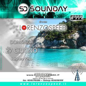 LORENZOSPEED* presents THE SOUNDAY Radio Show Domenica 27/6/2021 faccio la fila al bar Live edition