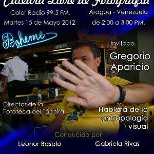 Programa 15-05-12 Gregorio Aparicio