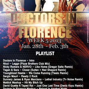 week 5 Doctors In Florence Doctors In Progress Radio Show