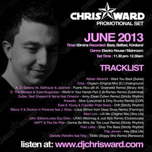 Chris Ward - June 2013 Promotional Set