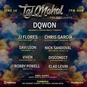 JJ Flores @ Taj Mahal 6-14-17