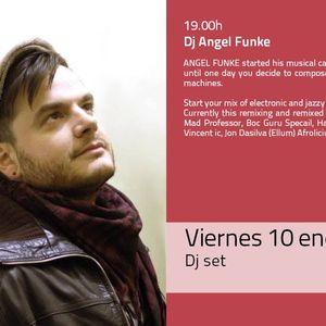 La Mesa Barcelona Dj Set Dj Angel Funke