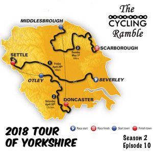 2018 Tour de Yorkshire Route Announcement: S2 Ep10