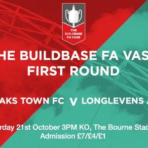 Sevenoaks Town 2-1 Longlevens AFC - FA Vase 1st Round (21st October 2017)