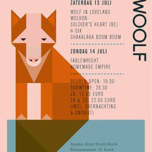 The Woot! Woot! Woolf Mixtape (July 2013/Utrecht)