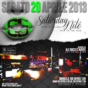 S.Y.N.A.P.S.E Live Edition Sat, 20th April 2013 @ THE CLUB MILANO