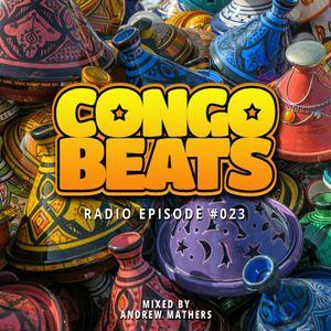 Congo Beats Radio 023 - Mixed by Andrew Mathers