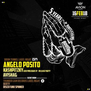 ANGELO POSITO @ Bootleg (Tel Aviv) Drum Tunnel Label Night (16.02.2018)
