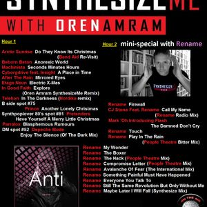 Synthesize Me #203 - 25/12/2016 - Hour 1