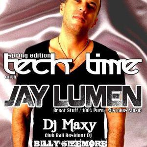 Jay Lumen - Live @ Club Bali Zenta Tech Time Spring Edition 2012.04.14.