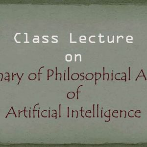 Summary of Philosophical Aspects of AI