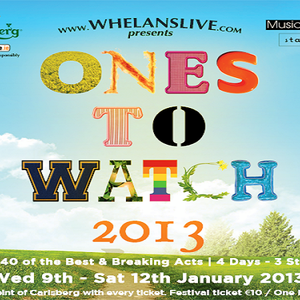 An Meangadh Mór, 11.01.'13: Ones to Watch 2013, Best of' lists, Gearrliosta, Gradam Meteor Choice!!