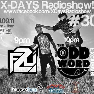 X-DAYS Radioshow! #30 - The Oddword