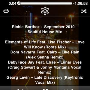September 2010 House Mix