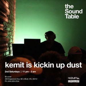DJ Kemit Presents Kickin Up Dust July 2013 Promo Mix