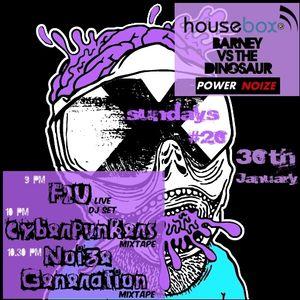 F2U Live > X-Sundays #20 - HBX Radio 29.01.2011