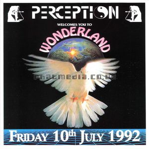 Perception 1992 Wonderland TOP BUZZ & CARL COX Side2
