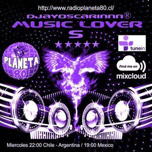 Music Lover en Radio Planeta 80 programa 5 By DjayOscarinnn®