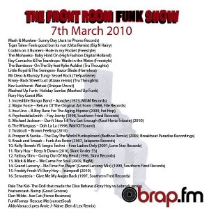Live @ The Brap.FM Front Room Funk Show