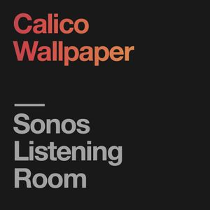 Sonos Listening Room: Calico Wallpaper