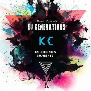 DJ GENERATIONS MIX BY KC 08-2017