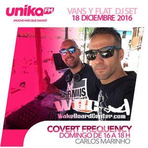Covert Frequency Live radio FM- Vans & Flat DJ set