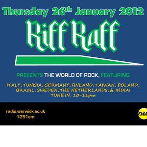 Riff Raff #12 - 26/01/12