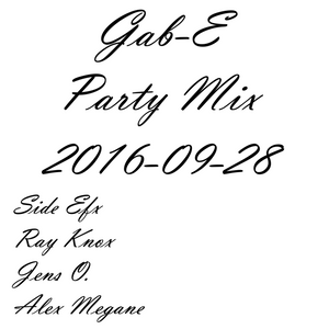 Gab-E - Party Mix 2016.09.28 (2016) PREW