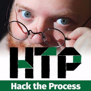 29 - Becoming Brave Enough for Comedy with Sarah Cooper on Hack the Process
