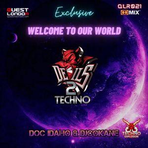 Techno Explosion Exclusive QLR021 | Doc Idaho & DjCokane
