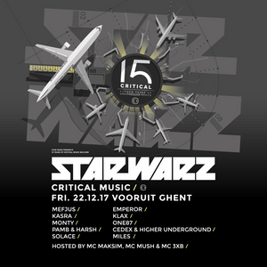 Exclusive Critical Music x Star Warz promo mix by KASRA