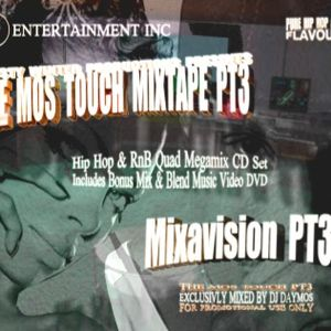 Daymos Mos Touch PT3 CD3 Hip Hop & Rnb Club Mix CD