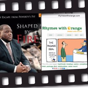 Will Roberts Weekly Radio - Courtney R Logan (Shaped by Fire) & Hilary Price  Syndicated Cartoonist