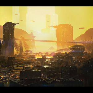 Approaching Colony Delta - a space/sci-fi  ambient mix by Theo M.