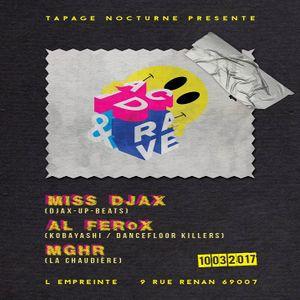 Al Ferox @ Acid & Rave - Empreinte Club Lyon - 10.03.2017