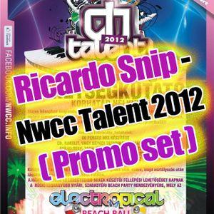 Ricardo Snip - Nwcc Talent 2012 ( Promo set )