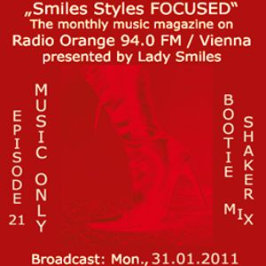 Lady Smiles Bootie Shaker mix_broadcast Radio Orange 94.0FM/Vienna