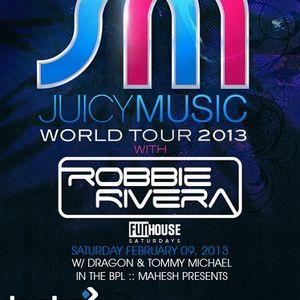Robbie Rivera - Live @ Juicy Music, Beta Nightclub, Denver, E.U.A. (09.02.2013)