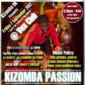 Dj Djahman - Kizomba Passion Mix 2k12