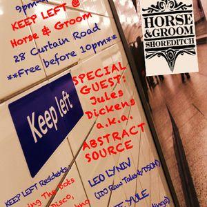 KEEP LEFT Horse & Groom Promo Mix