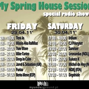 Łukasz K - 'My Spring House Session' on MyUnderground.pl Radio (Disco & Funky House)