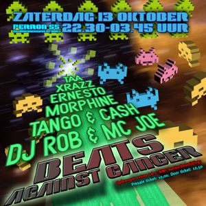 DJ Morphine vs. DJ Taa. 3 Hours Houseclassics Liveset @ Beats Against Cancer Part 2, Okt. 2012.