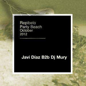 Javi Díaz B2b Dj Mury @ Repibelo Party Beach (25 Octubre 012)