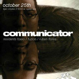 Communicator at Tiger O'Stylies 10.25.12