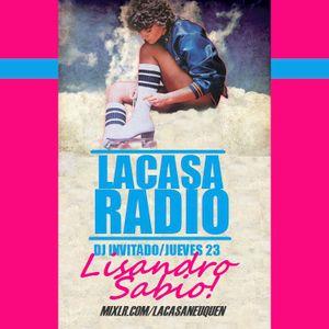Lisandro Sabio@La Casa Radio 23-08-2012