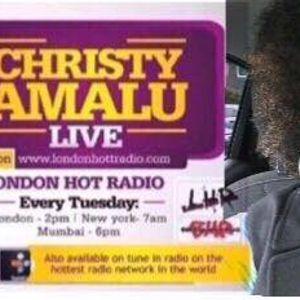 Christy Amalu on London Hott Radio 210317