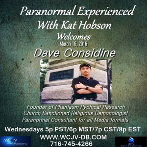Paranormal Experienced with Kat Hobson 20160316