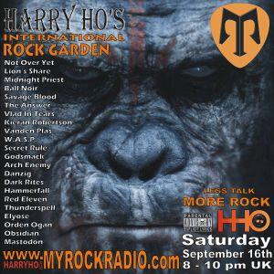 Harry Ho's intern. Rock Garden 16.09.2017