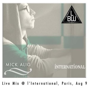 Mick Alig - Live Mix @ l'International, Paris, August 9, 2014