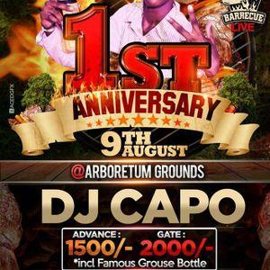 DJ CAPO BBQ LIVE ANNIVERSARY SET